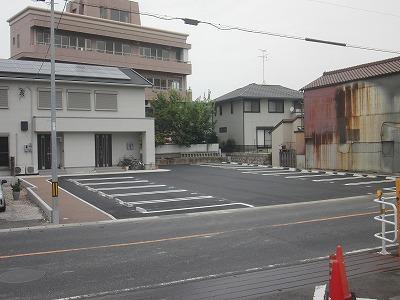 駐車場新設工事 空き地を活かして有効活用