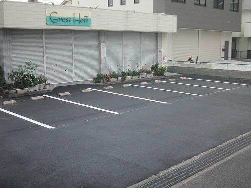 守山区 美容院駐車場工事