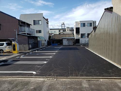 名古屋市東区 駐車場新設工事
