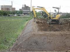 北名古屋市 敷地造成工事