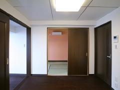 東京 リビングルーム 内装工事