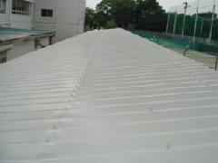 公共施設 屋根 塗替え工事