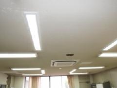 病院 LED照明取り付け工事