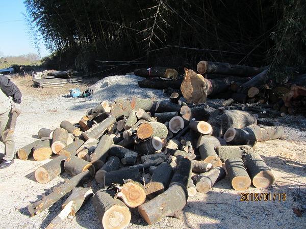 ストーブ用木材