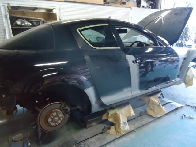 RX8 修理の様子