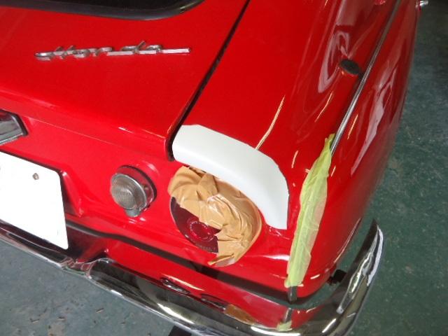 S600修理の様子