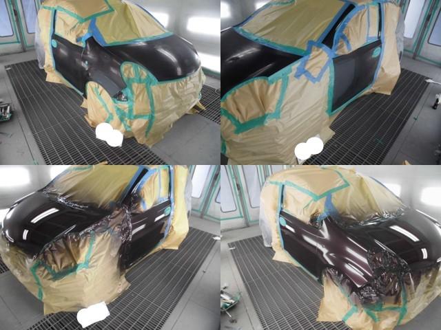 塗装作業の様子
