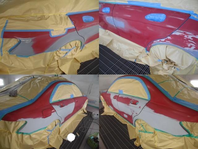 サフェサー塗装