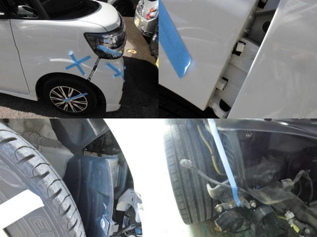 損傷状態の写真