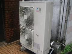 エアコン 室外機洗浄