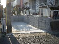 佐倉市大崎台Y様邸駐車場工事。