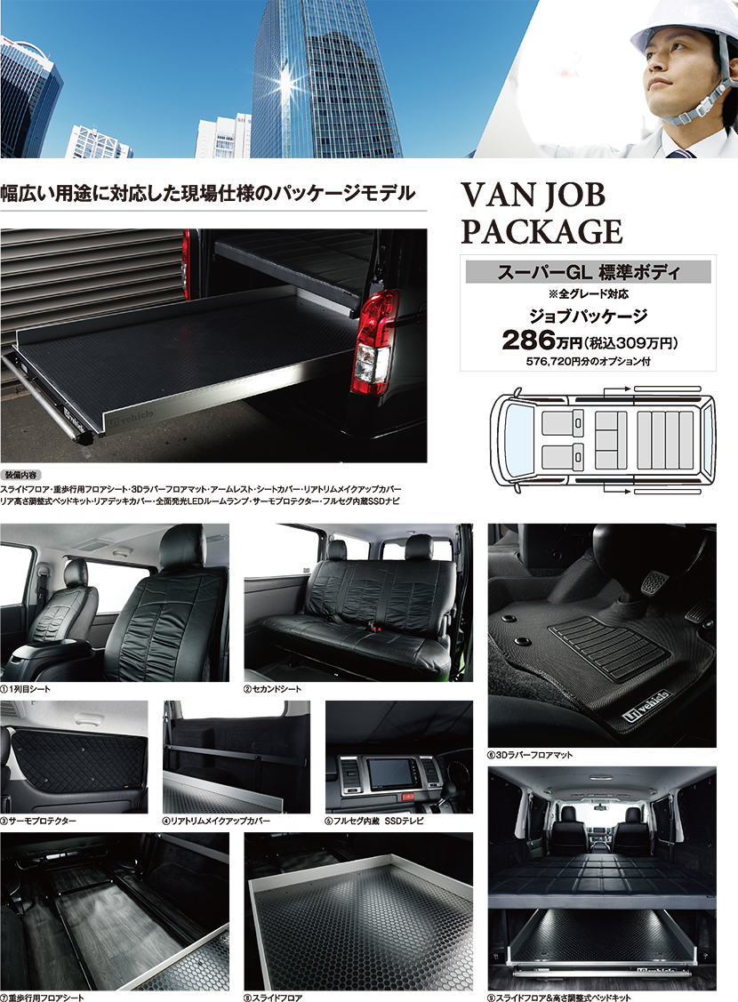 VAN JOB PACKAGE