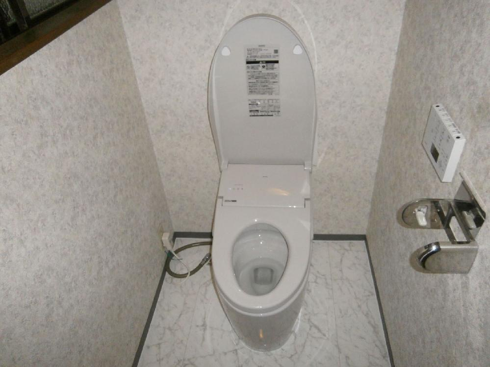 トイレ施工完了