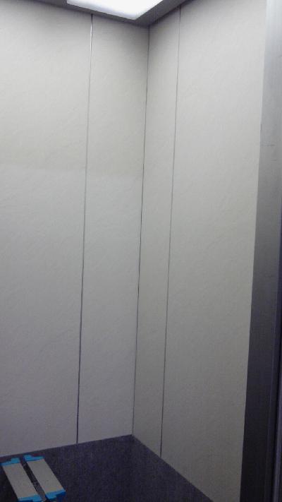 白柄のダイノックシートを施工