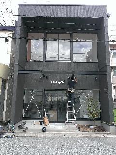 屋台拉麺一's様 店舗サイン