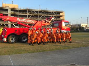 消防隊員特別訓練の指導03