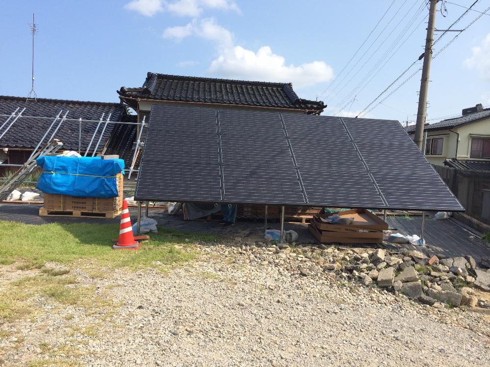 産業用太陽光発電システム工事