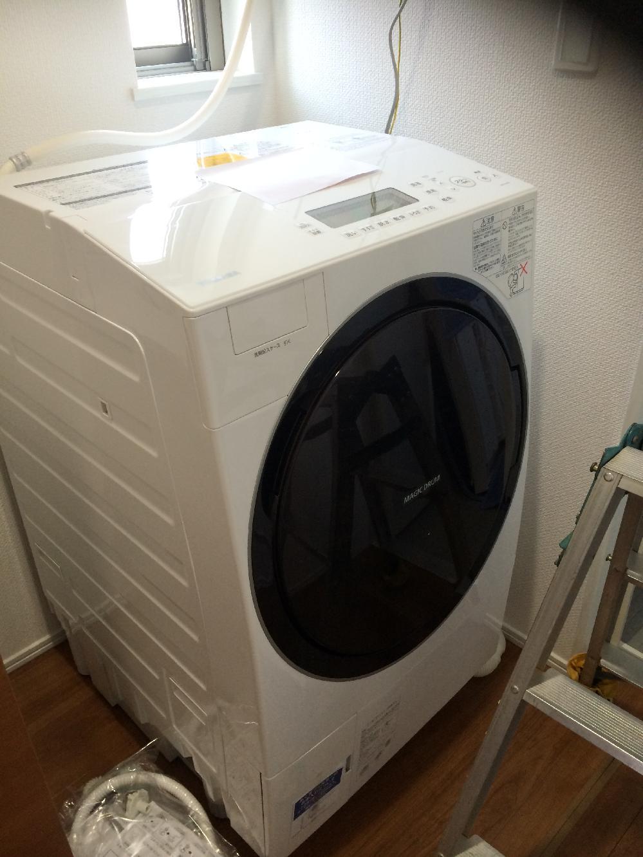 新型洗濯乾燥機