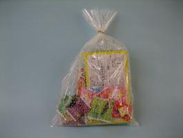 かすみ草、柄入 OPP袋 サイズ150*250