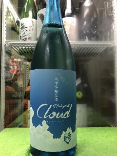 秋田県 鈴木酒造店 秀よし 純米吟醸原酒 Hideyosi Cloud  1800ml  要冷蔵商品