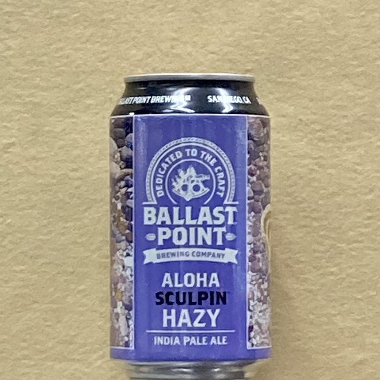 バラストポイント アロハスカルピン HAZY IPA 355ml缶