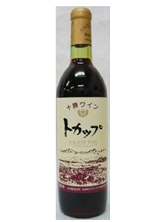 北海道 十勝ワイン トカップ 赤 720ml