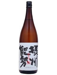 秋鹿 摂州能勢 純米酒1800