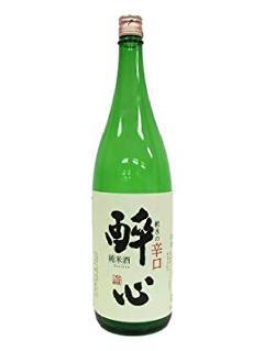 醉心 軟水の辛口 純米酒 1800ml