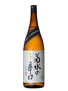 菊水 辛口 本醸造 1800ml