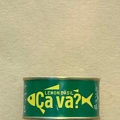 Cava?(サヴァ)缶 国産サバのレモンバジル缶 170g