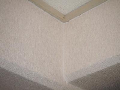 天井も壁も一新です。