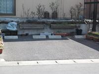 個人宅の駐車スペース・ガレージ製作