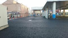 栃木県小山市 店舗 駐車場工事