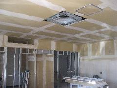 小平 美容院 間仕切り 天井 造作