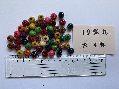 10mm 4穴 ミックス(50ヶ入)