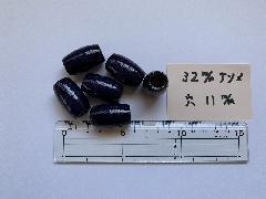 32mm ナツメ 11穴 紺(6ヶ入)