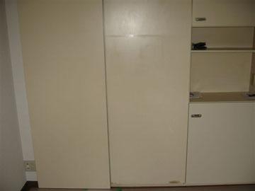 収納扉のリフォーム