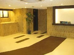 ホテル21 ロビー内装工事