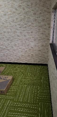 床カーペットタイル・パンチカーペット施工例 新色