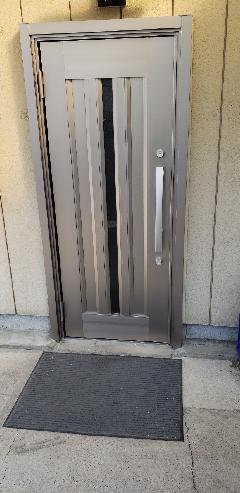 入口玄関ドア・サッシ交換工事