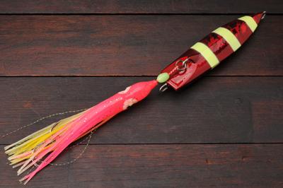 脇漁具 Wウェーブ ウラシマ� 180g レッドゼブラグロー