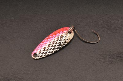 ムカイフィッシング 岩魚スプーン 3g 7シルバーピンク