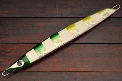 ヤンバルアートクラフト チャクラデルタ 350g ITSカスタムカラー グリーンチャートゼブラグロー/オレンジベリー/ジグソーホロ