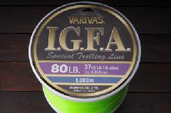 モーリス バリバス IGFA スペシャルトローリングライン 80LB 1000m