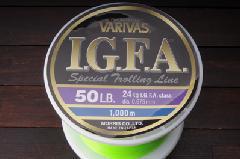 モーリス バリバス IGFA スペシャルトローリングライン 50LB 1000m