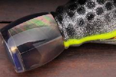 UVリフレクターチャガー 黒蝶貝/シルバーゴールド