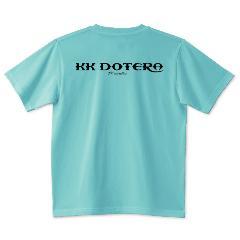 T.KustoM KK DOTERA Tシャツ ブラックプリント