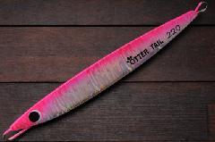 ブリード オッターテイル鉛 220g ピンク/グローベリー