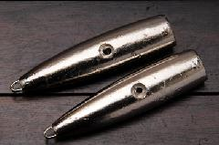 脇漁具 インチク 丸子鉛 溝入型 大 131g 2個入