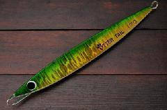 ブリード オッターテイル鉛 170g ミドリキン/グローベリー